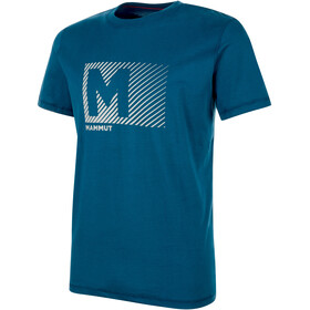 Mammut Massone t-shirt Heren blauw